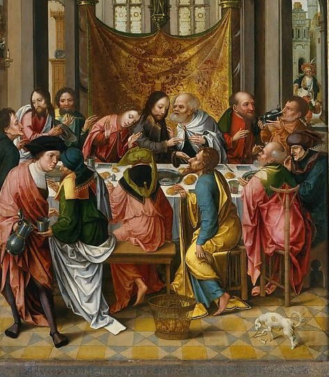 The Last Supper Netherlandish (Antwerp Mannerist) Patiners 1515-20 cropped